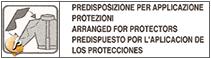 Predisposizione Protezioni  Spalla Gomito